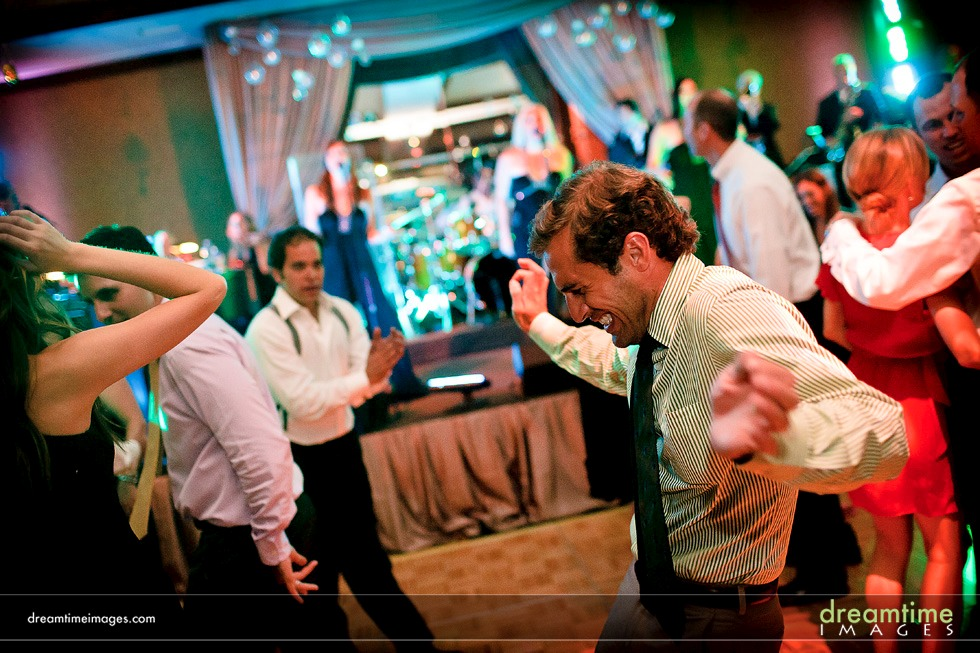 dancing wedding