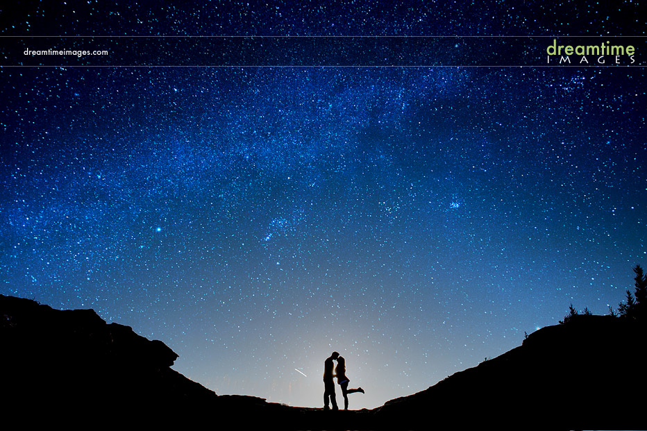 Starry Night Engagement   Sara + Nick   Estes Park, CO