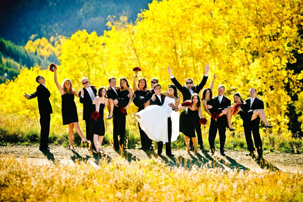 October wedding in Beaver Creek
