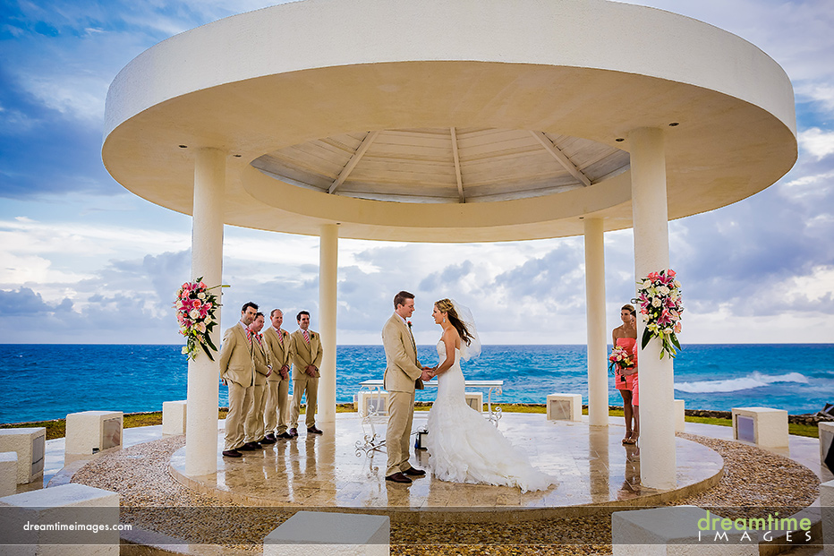 ceremony site dreams resort