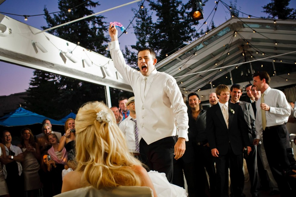 I love the Sonnenalp for its gorgeous creekside ceremony site, great restaurant, central location, and cool glass topped dance floor that is at once indoors and outdoors.