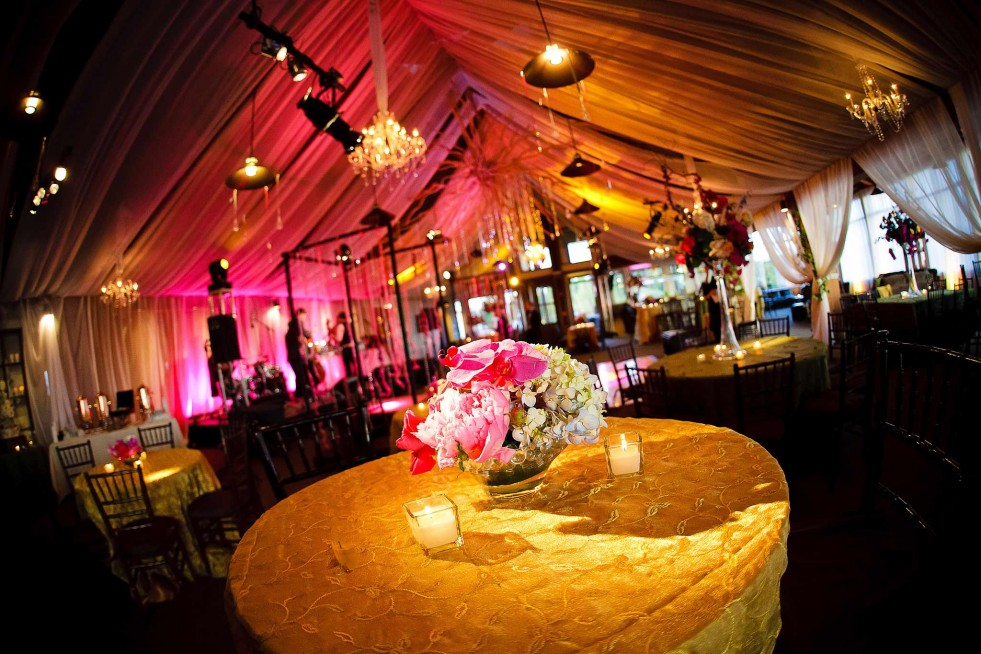 Aspen Mountain Club wedding decor