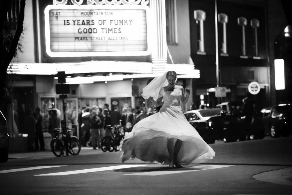Boulder Theater Wedding