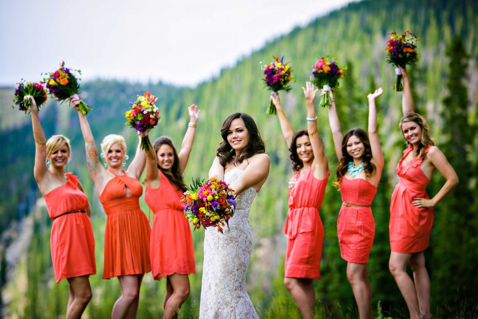 Bridesmaids in Summit County