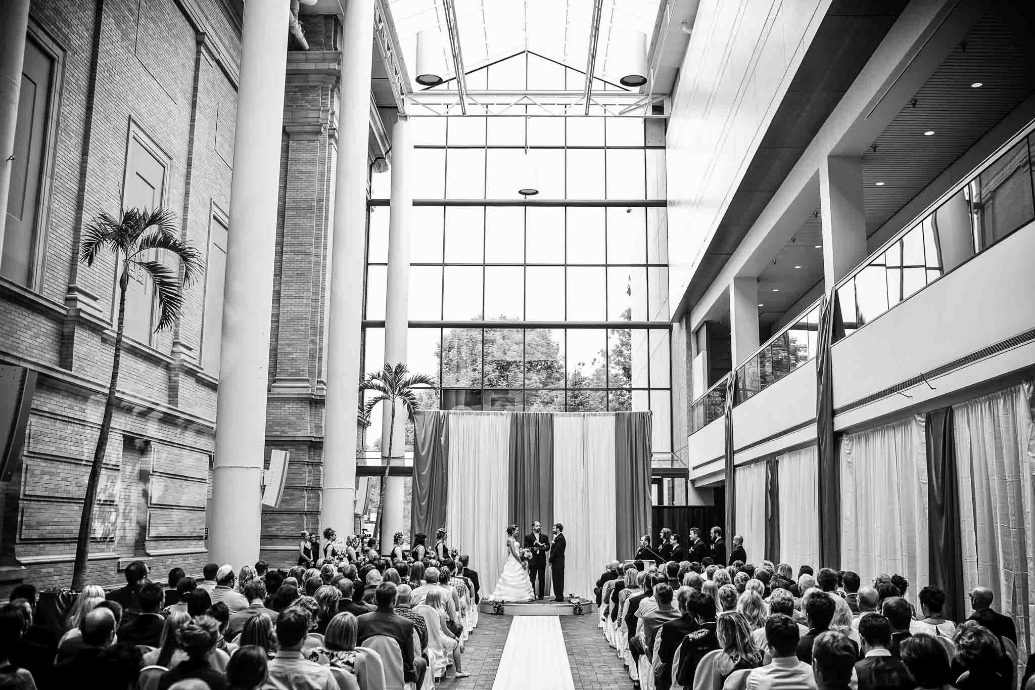 Winter Wedding at the Denver Museum of Science and Nature
