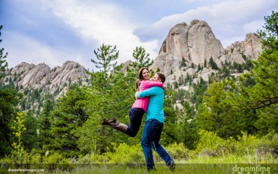 Lumpy Ridge Engagement | Estes Park, CO | Kristen + Blake