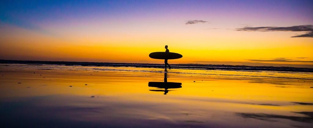 Sunset in Playa Jaco