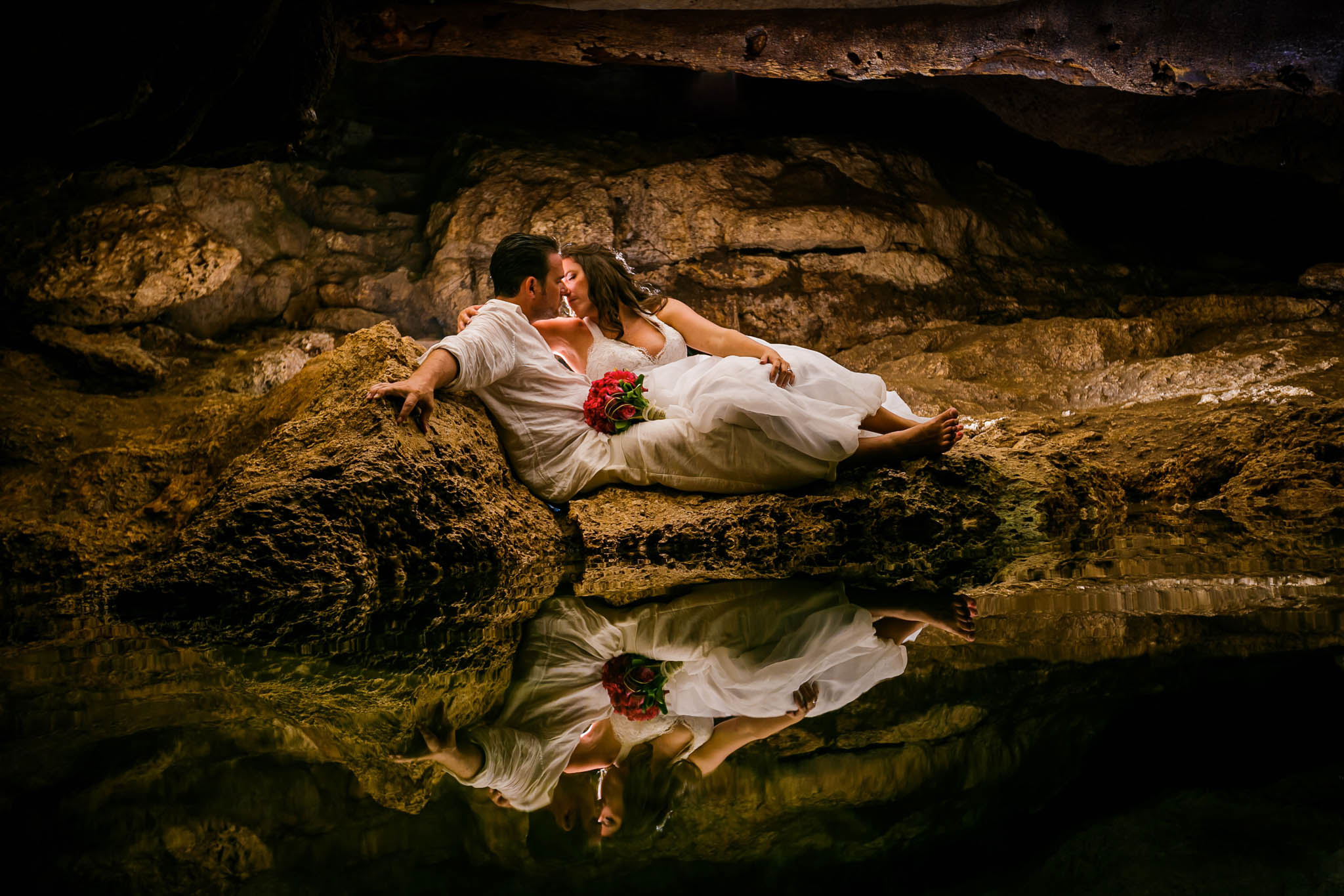 Trash the Dress Photography in Mexico