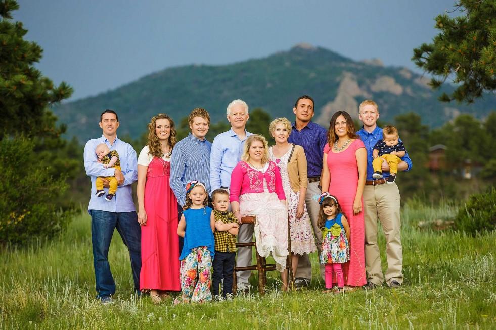 Family reunion in Estes Park, CO