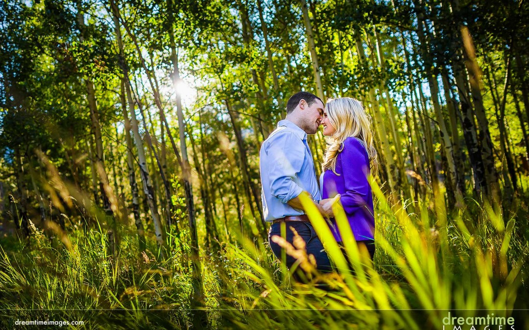 Fall Engagement Photos in the Rockies |  Kedzie + Ed