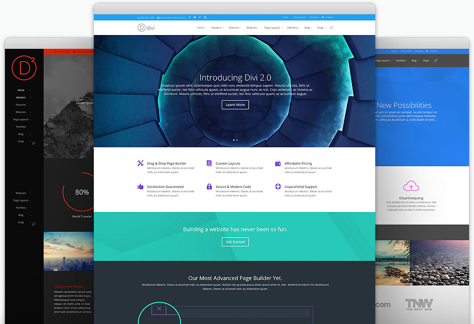 Speed up Divi Theme