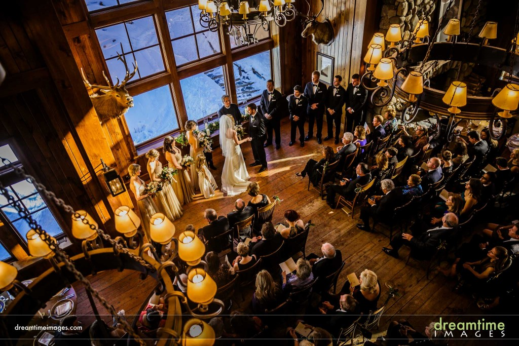 Overview of Saddleridge Wedding