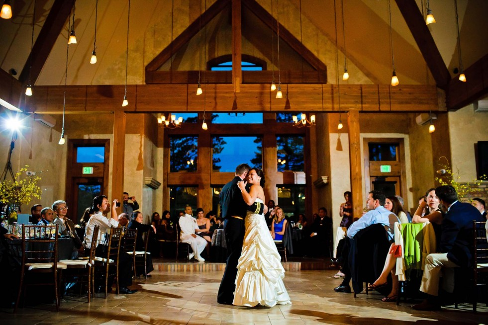 Wedding reception at Della Terra Mountain Chateau