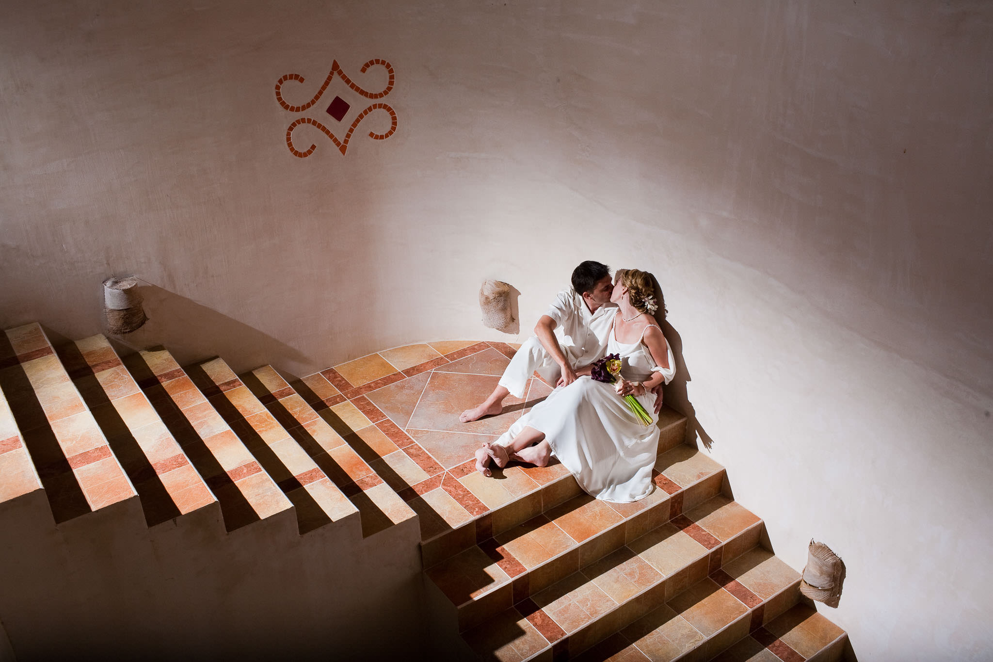 Wedding couples at Mil Amores, Tulum