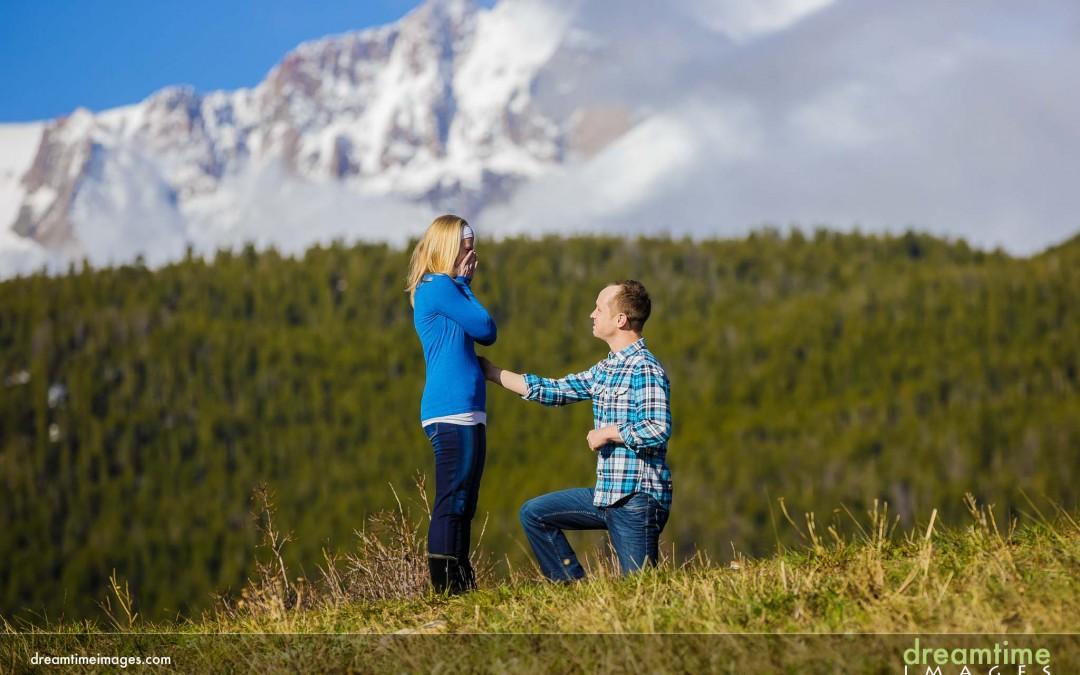 Surprise Proposal | Estes Park, CO | Aaron + Erica