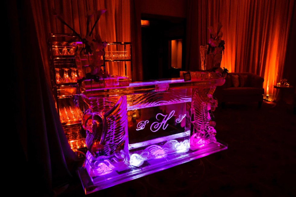 Ice bar at a Four Seasons Vail wedding