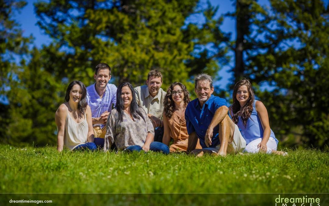 Summertime Family Photos around Lily Lake