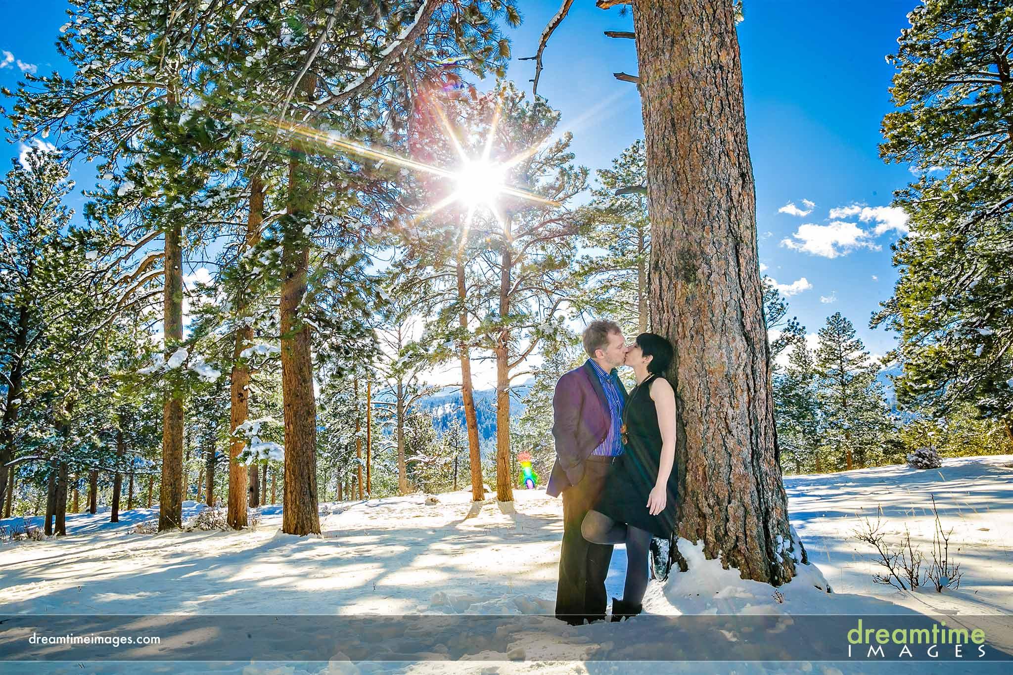 Della Terra Engagement | Estes Park, CO | Courtney + Jeff