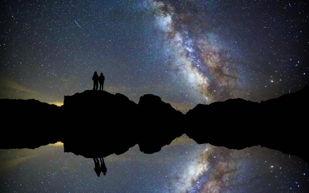 RMNP and Milky Way Engagement Photos | Estes Park, CO | Jenn + Dan